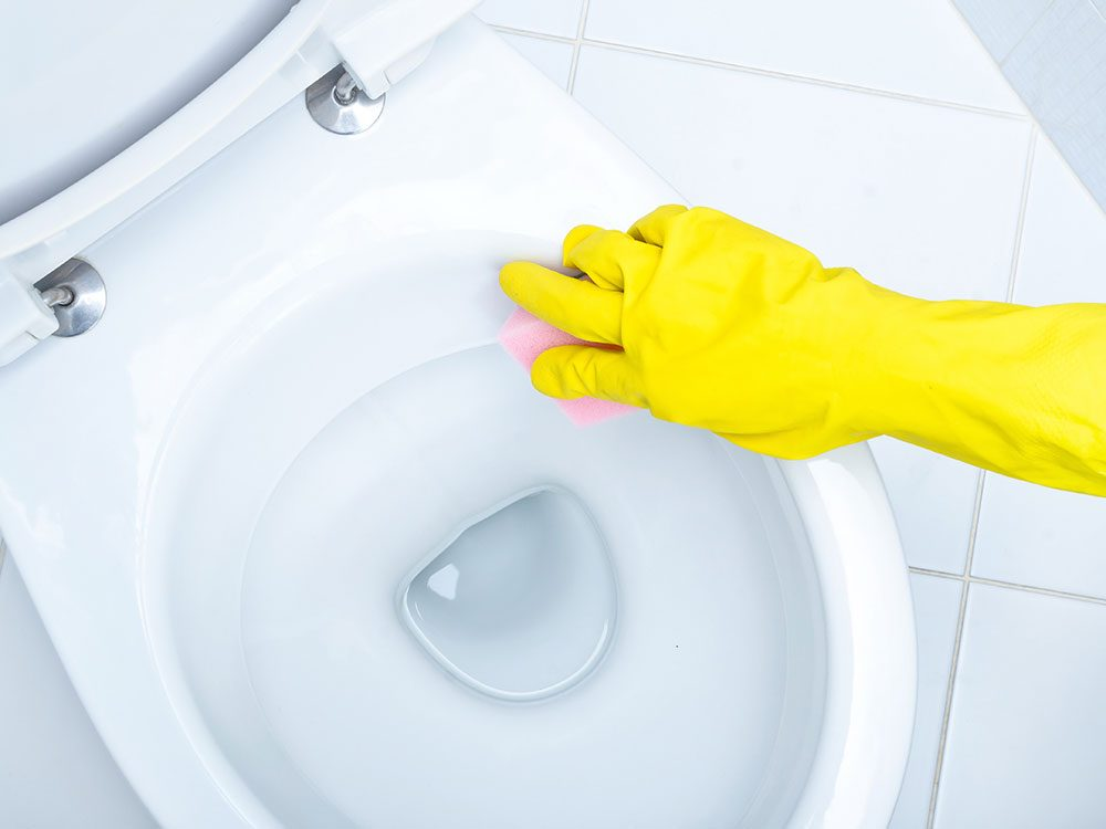 House cleaning hacks: Toilets