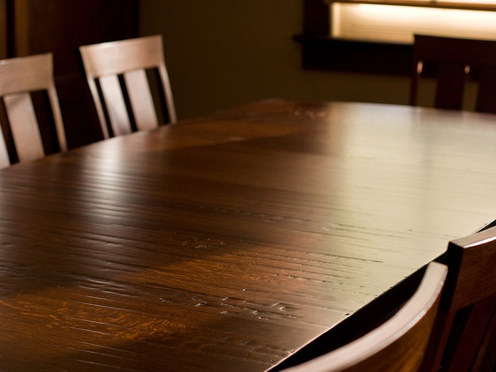 House cleaning hacks: Wood furniture tips