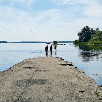 You Can't Go Home Again: The Lost Villages of the St. Lawrence River