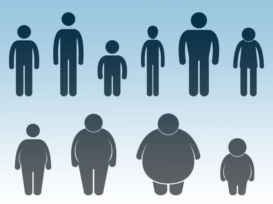 Male body types women prefer