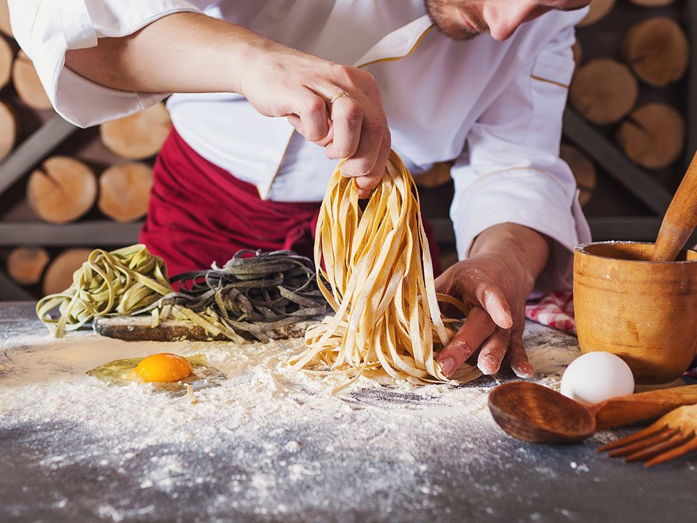 Pasta cooking advice