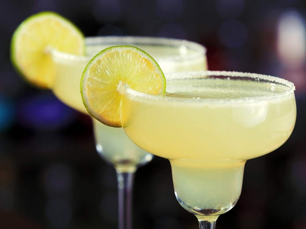 Perfect margarita cocktails