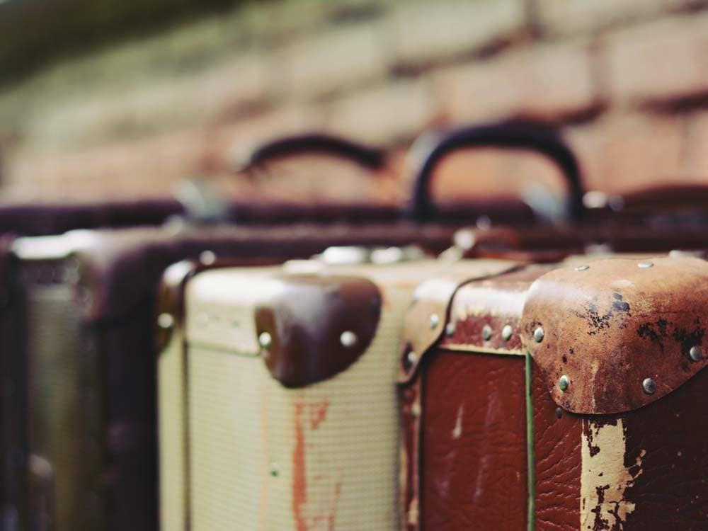 Retro luggage