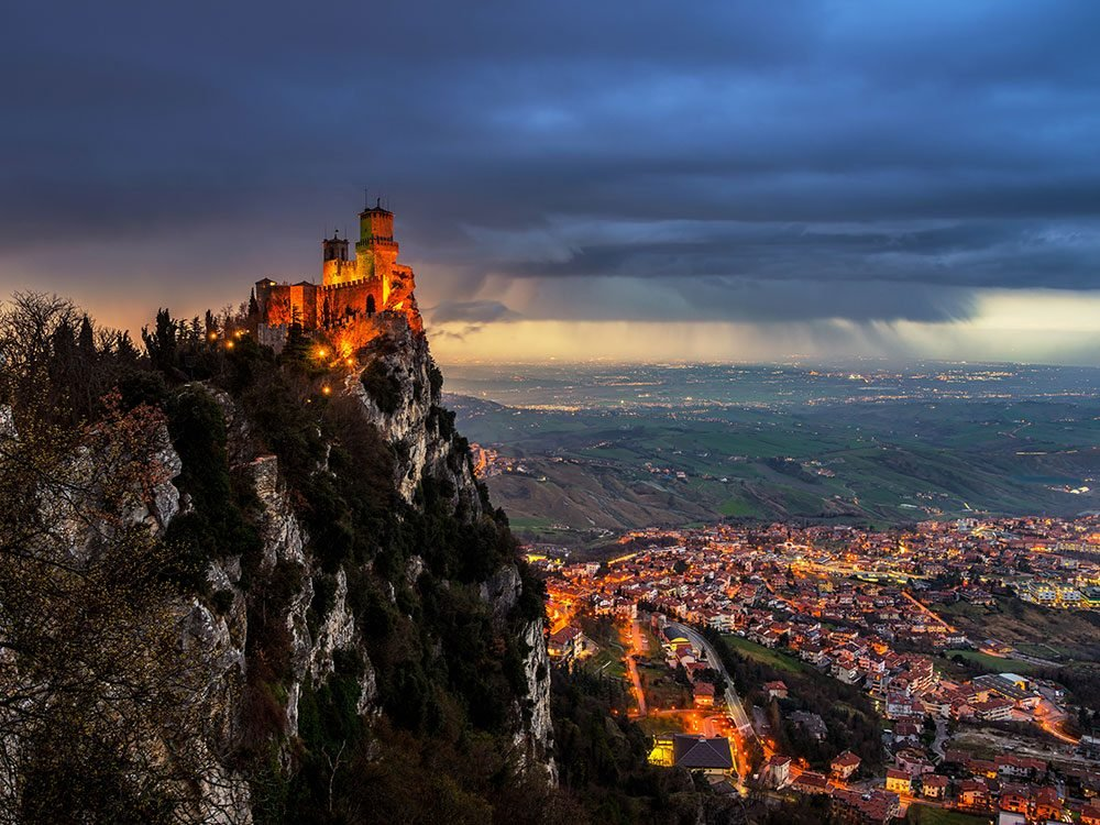 San Marino is the least visited country in Europe