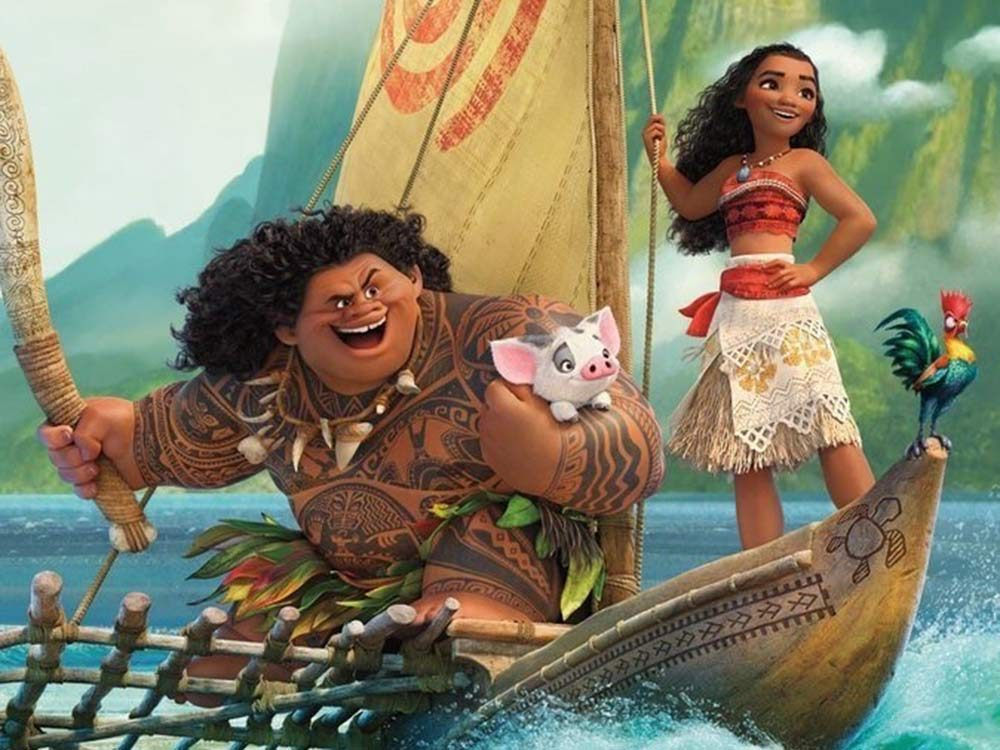 Moana, one of the most popular Disney movies