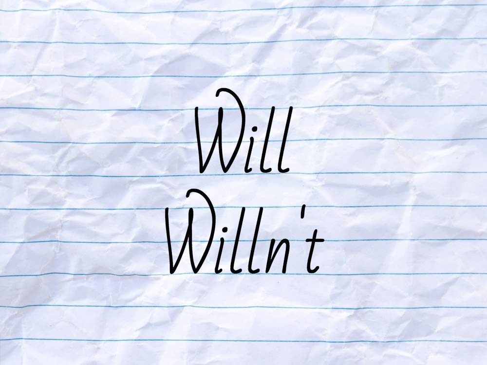Will not contraction