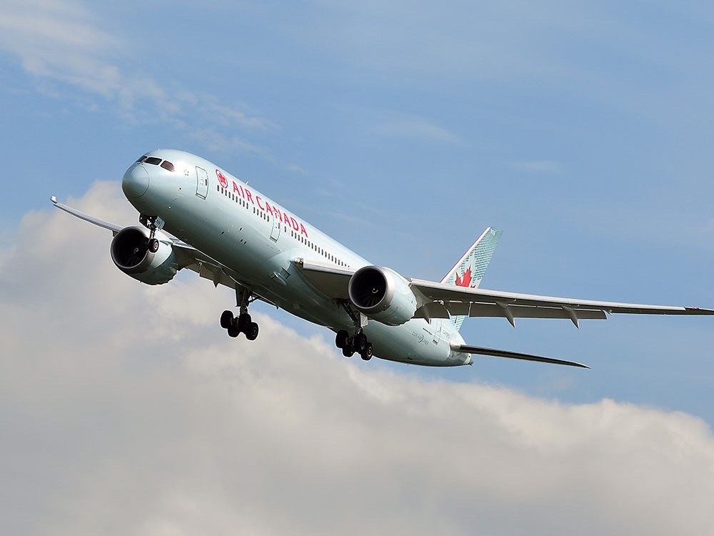 Take Air Canada to the Cayman Islands