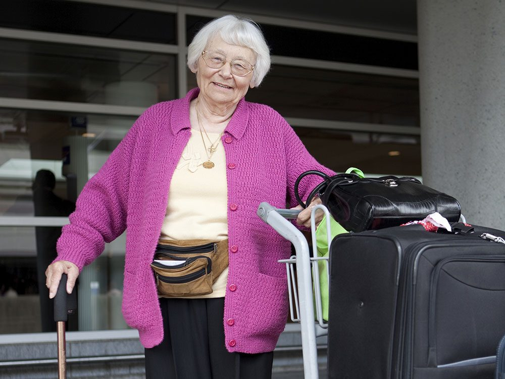 Airport tips for seniors travelling unaccompanied