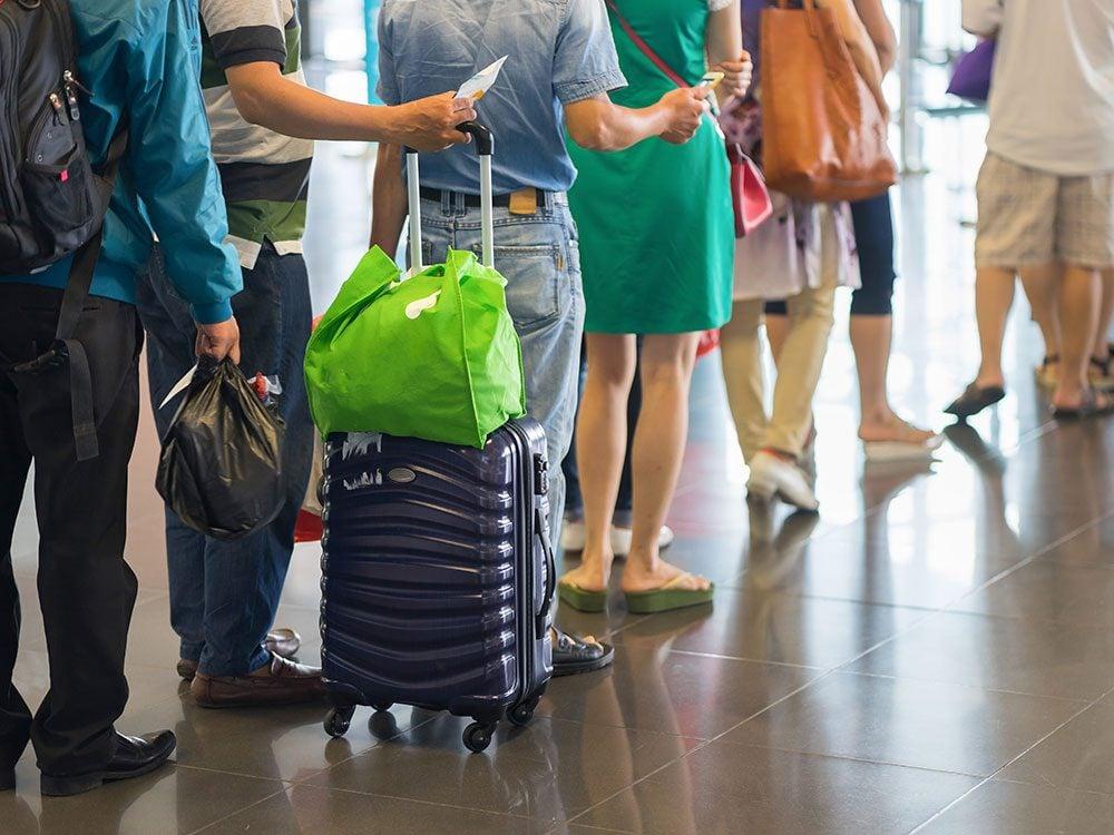 Airport tips: Get Nexus