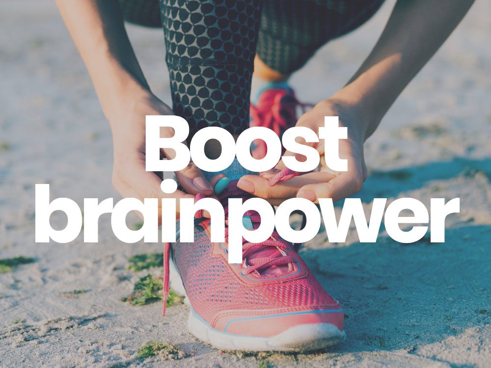 Boost brainpower