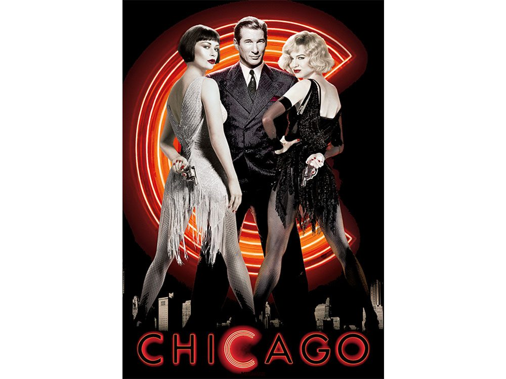Chicago won the 2002 Academy Award for Best Picture