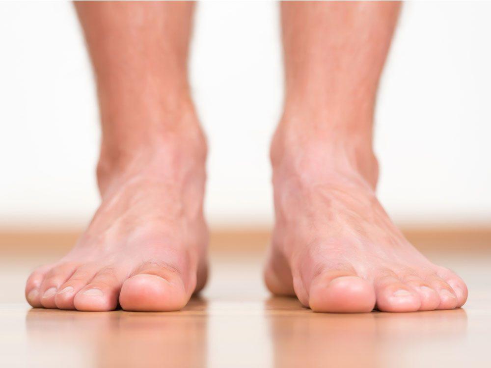 Body parts - Male feet