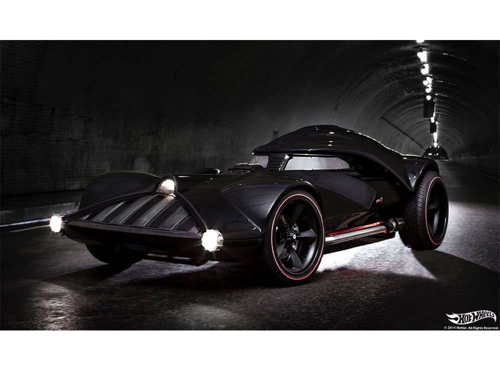 Hot Wheels life-size car