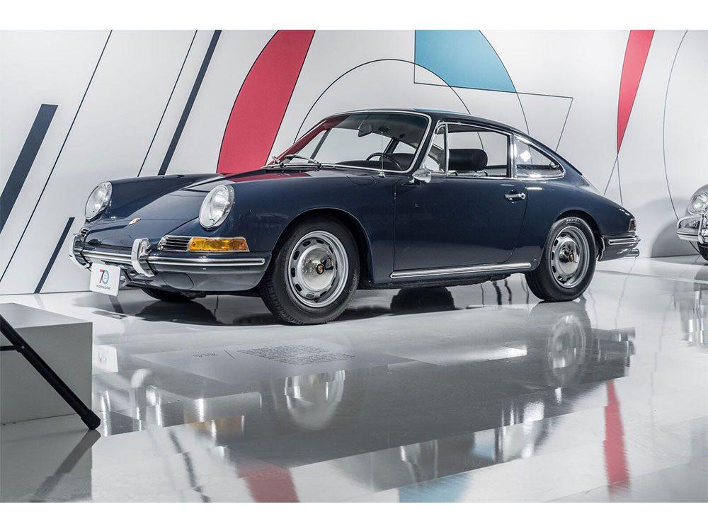 Porsche 912 model