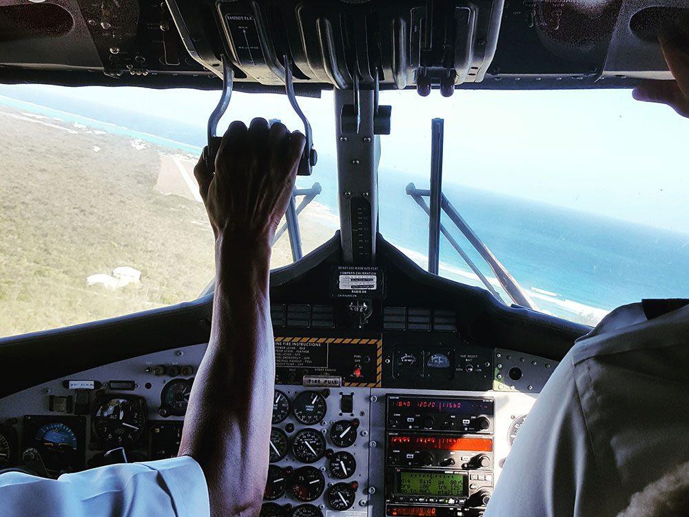 Cayman Airways twin otter airplane
