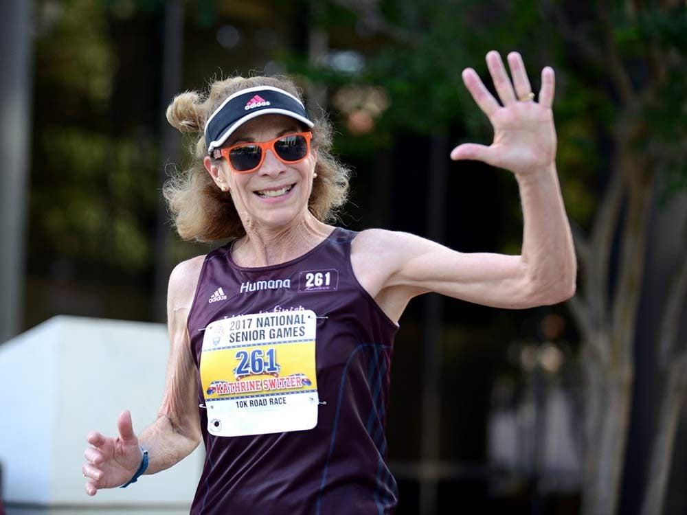 Marathon runner Kathrine Switzer
