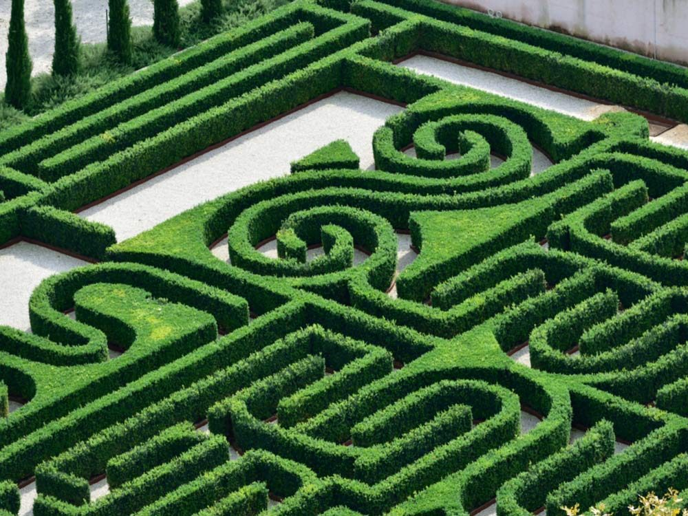 Borges Labyrinth, Italy