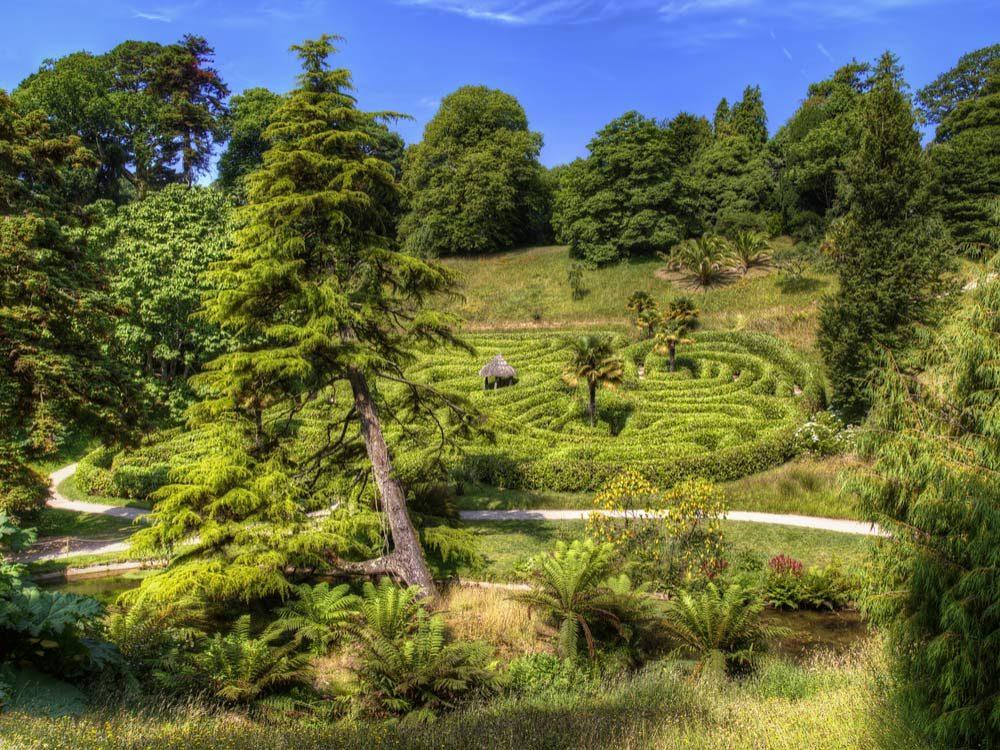 Glendurgan Garden Castle