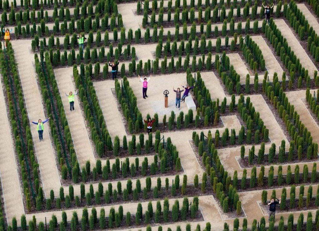 Teichland Maze, Germany