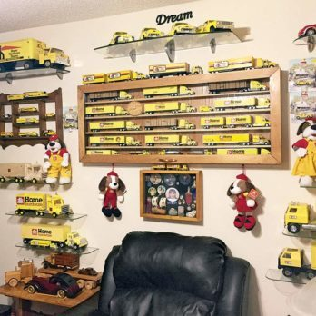 Check Out This Canadian's Amazing Model Truck Collection!