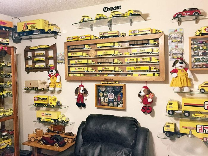 Home Hardware diecast truck collection