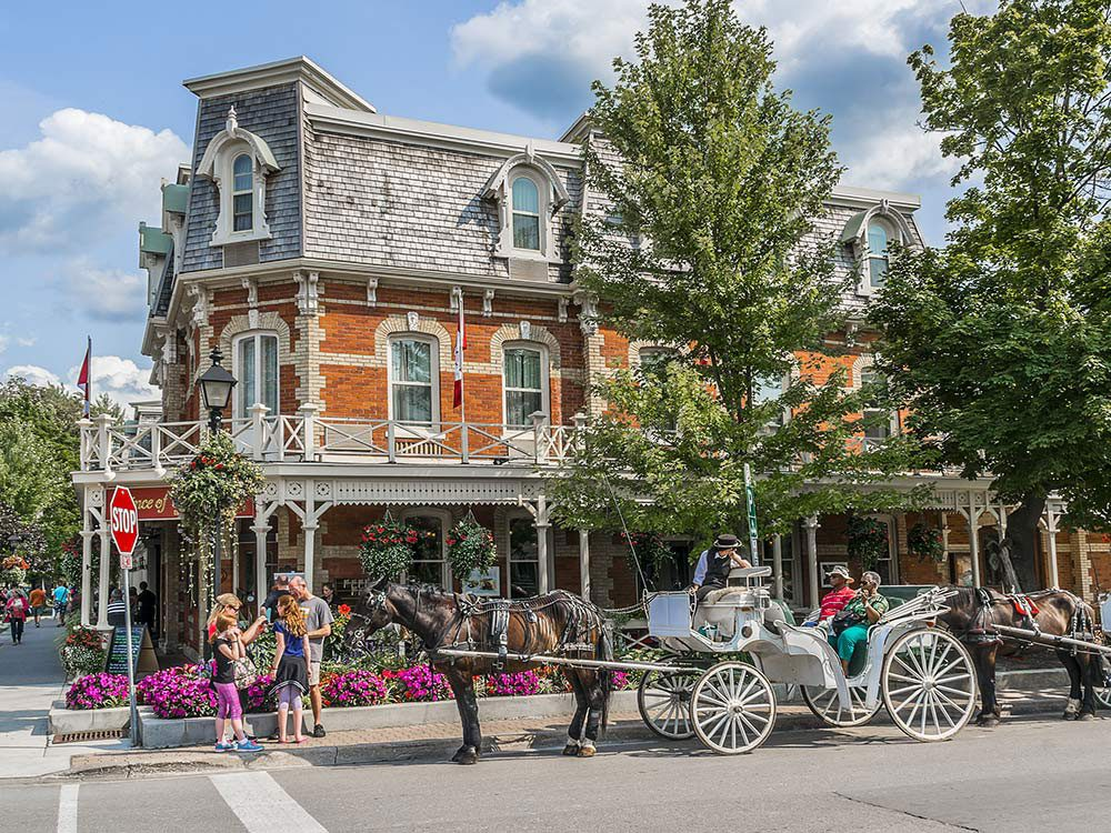 Most romantic places in Canada: Niagara on the Lake