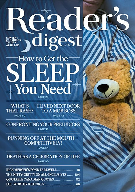 Reader's Digest Canada - April 2018