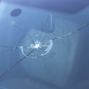 Chipped windshield repair