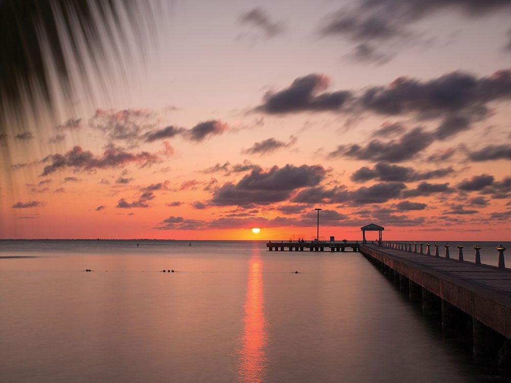 Rum Point sunset, Cayman Islands