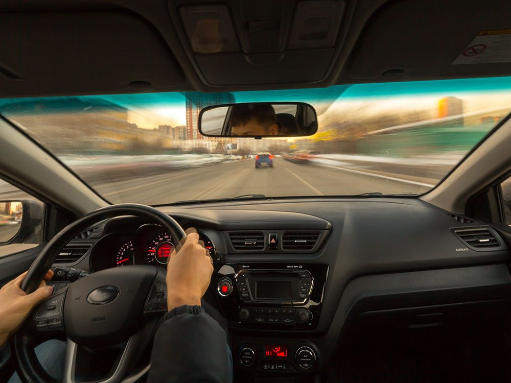 Save on gas by keeping your windows open at low speeds