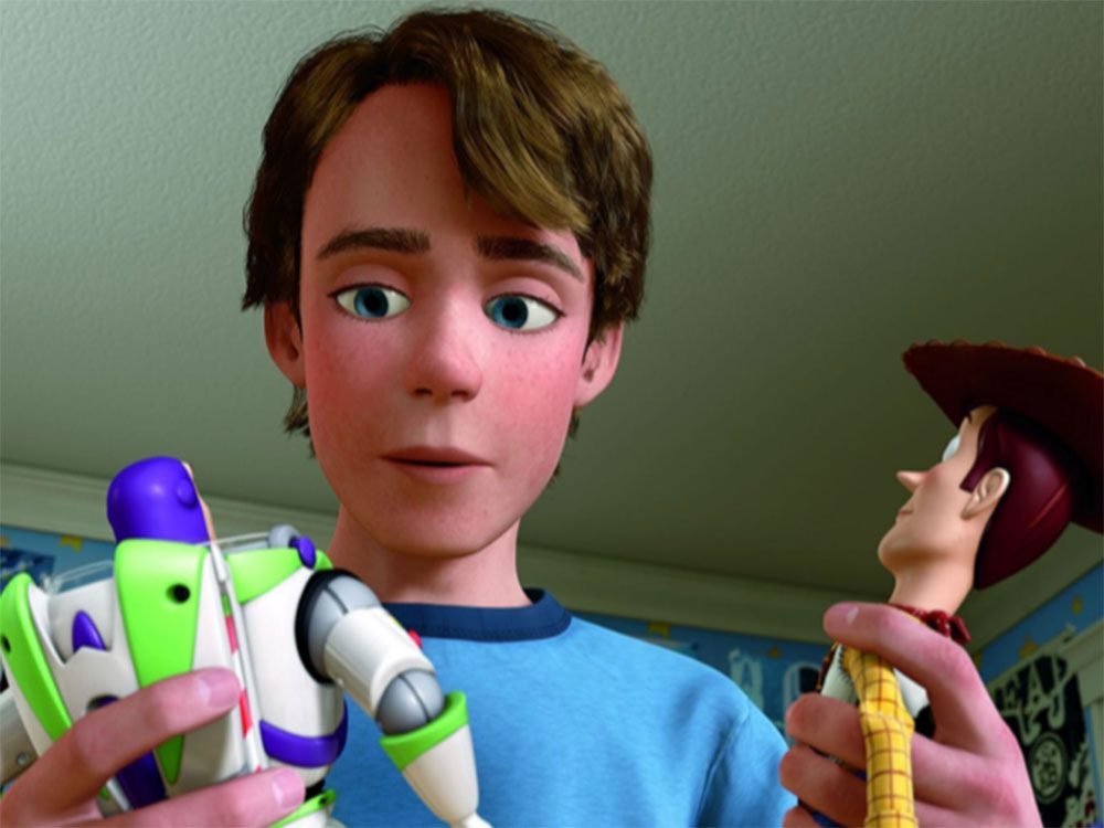 Andy in Toy Story 3