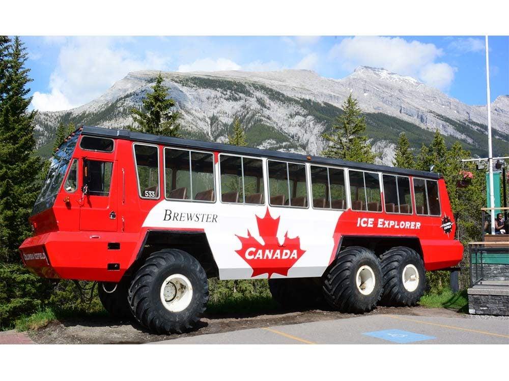 Banff tour bus