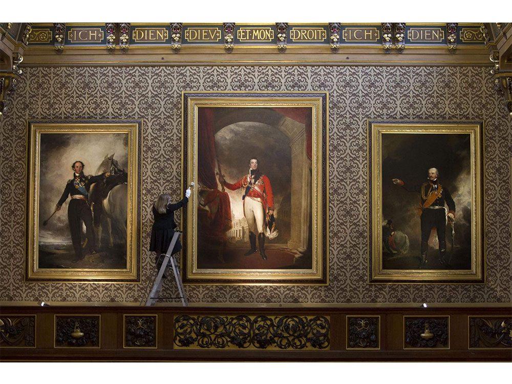 Staff at Windsor Castle