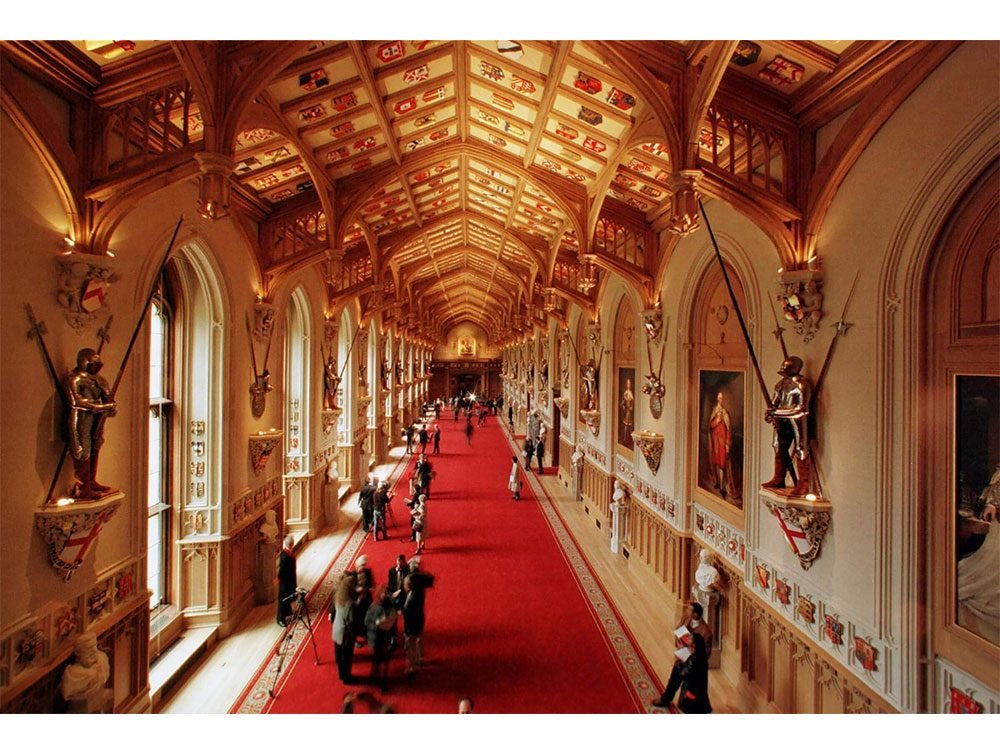Great hall of Windsor Castle