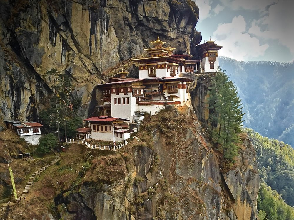 Bhutan: Tiger's Nest Monastery