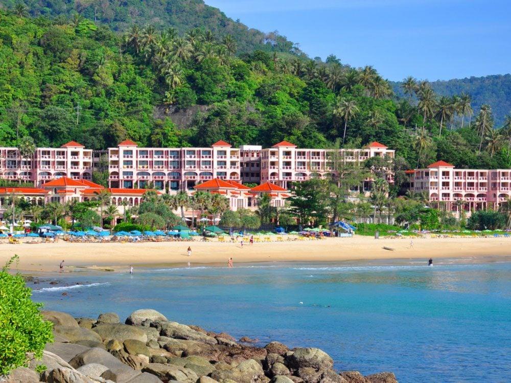 Beach resort in Thailand