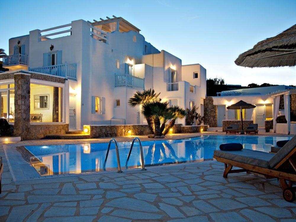 Pool at inclusive resort
