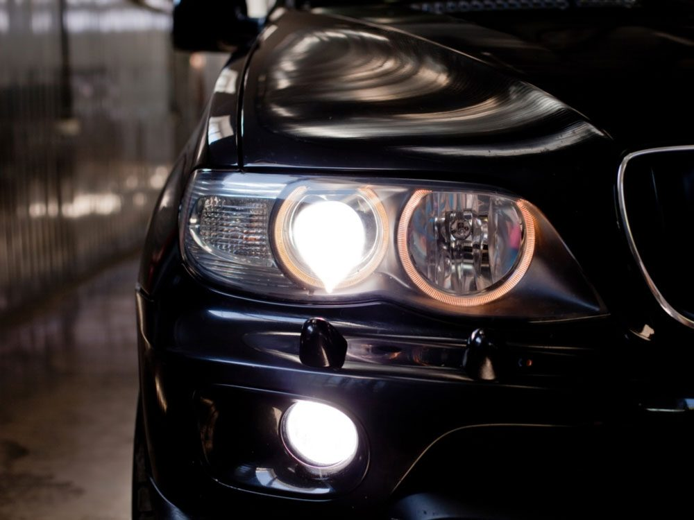 LED car headlights