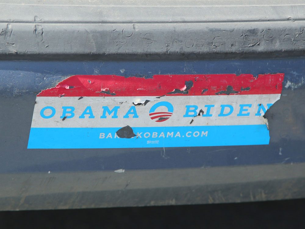 Obama/Biden bumper sticker
