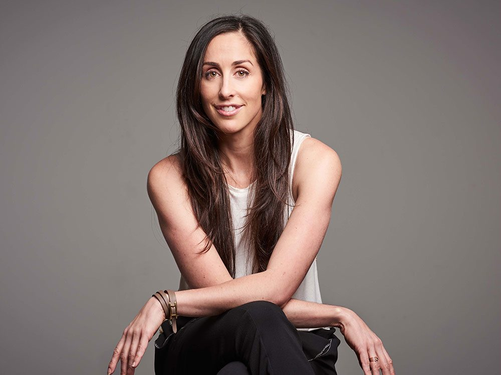 Catherine Reitman of CBC's Workin' Moms