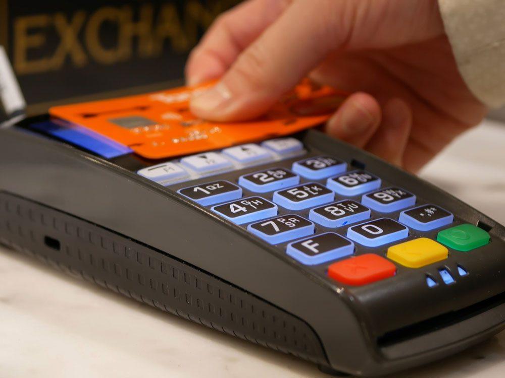 Scotiabank credit card