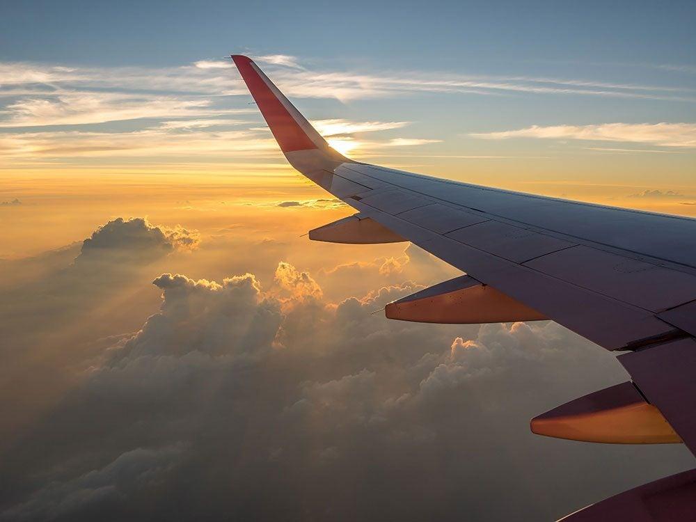 Flying to a destination wedding