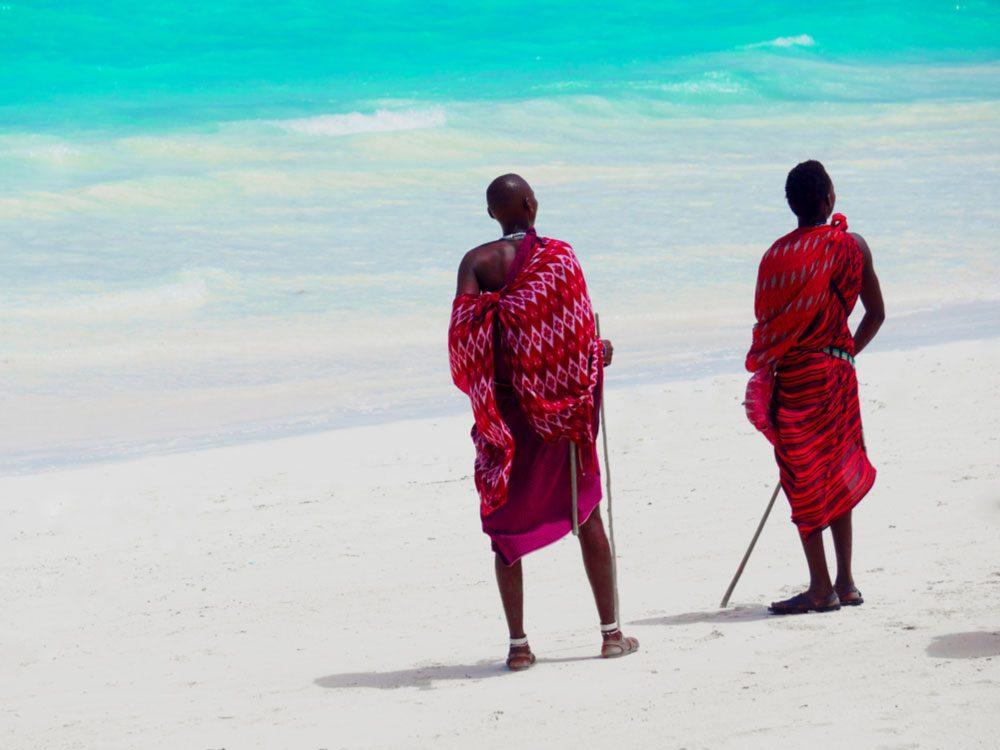 Masai tribe in Zanzibar