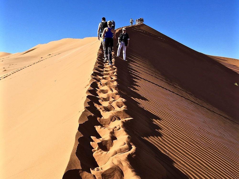 Bucket List: Sand dunes in Namibia