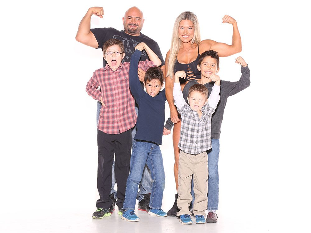 Nichelle Laus and her family