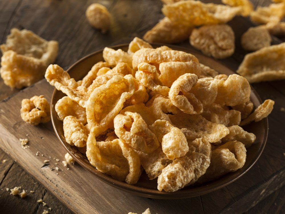 Chicharrone (fried pork skin)