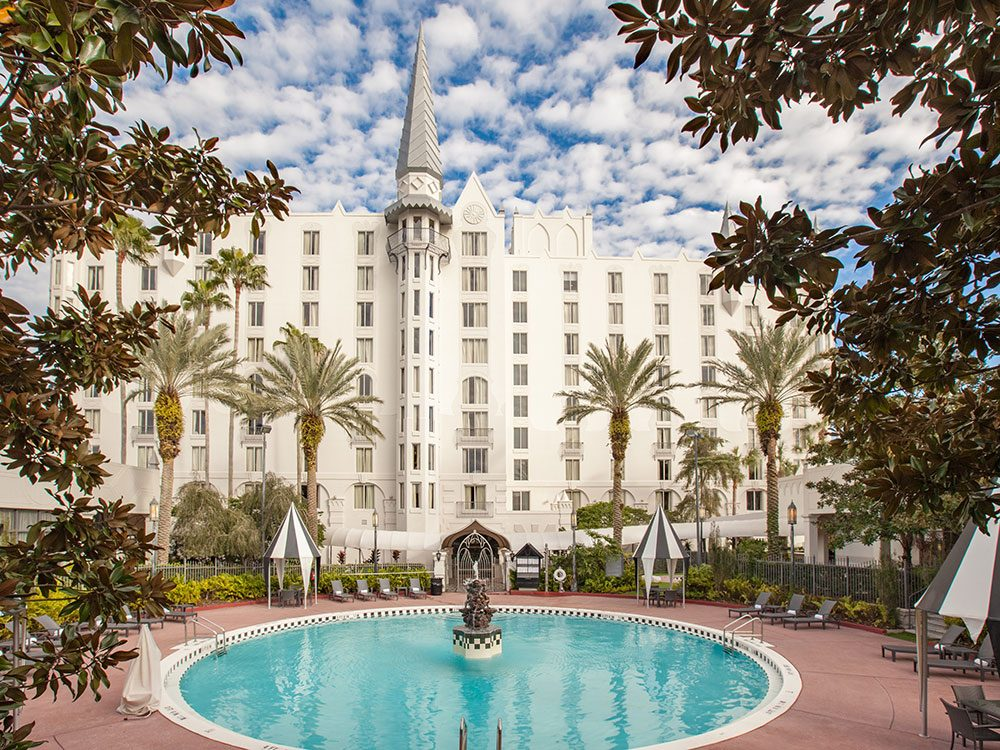 Things to do in Orlando: Castle Hotel