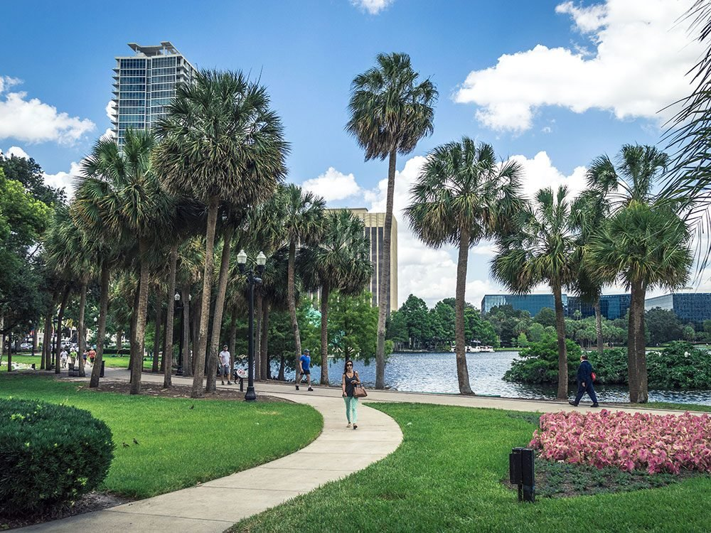 Things to do in Orlando: Lake Eola Park