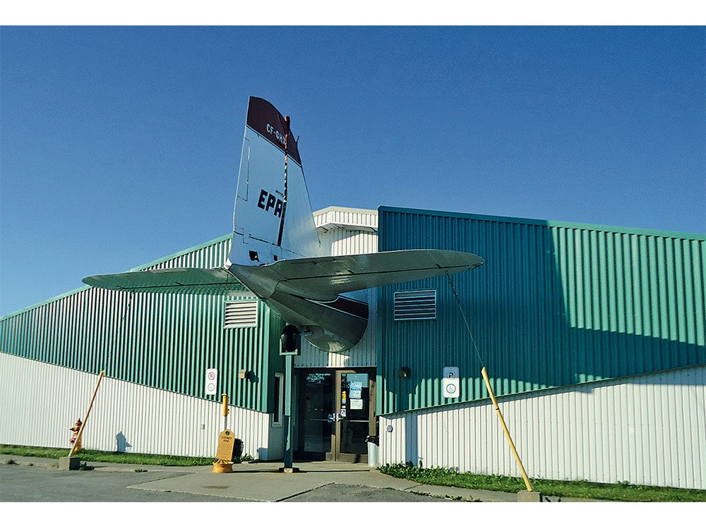 North Atlantic Aviation Museum in Gander, Newfoundland