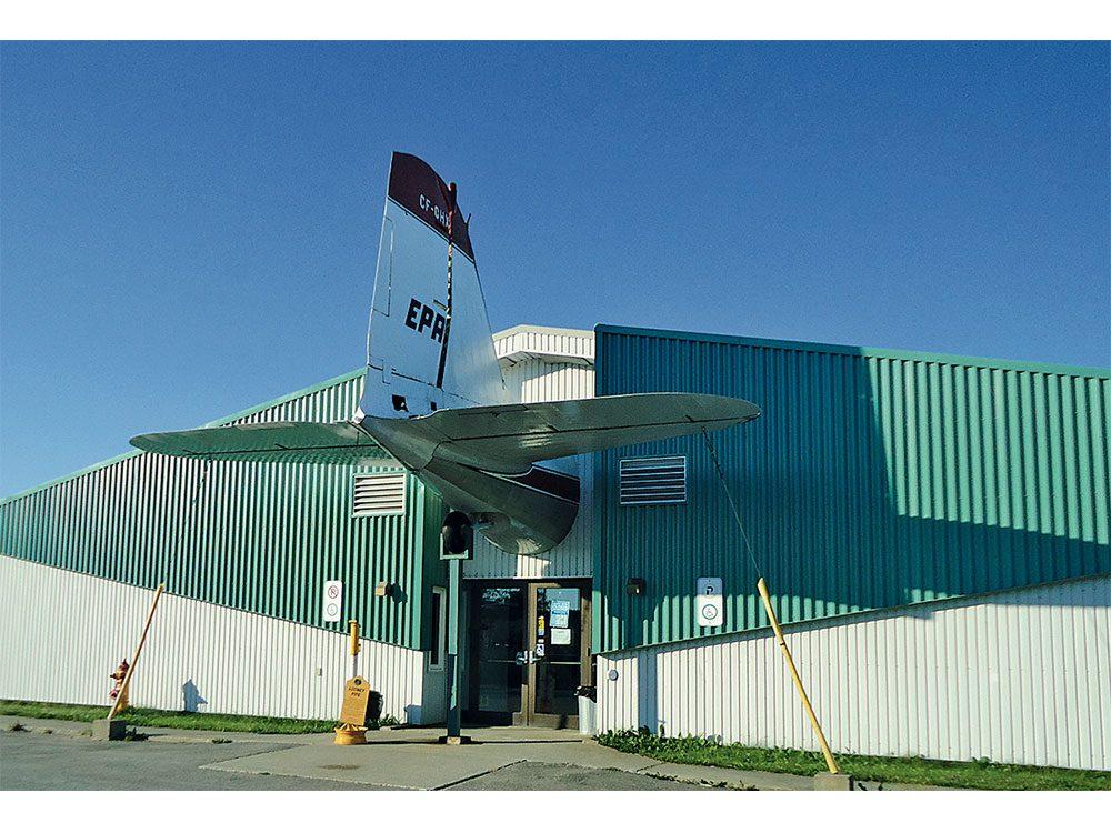 North Atlantic Aviation Museum in Gander, Newfoundland